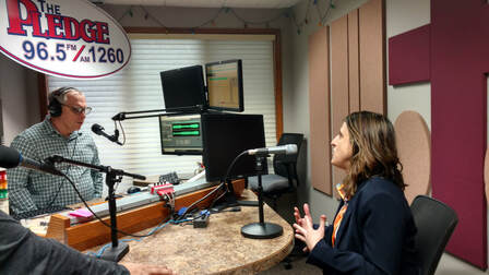CEO Rebecca LeClaire on The Pledge Radio 96.5 FM - Start-up to Success